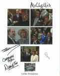 5 Genuine Only Fools and Horse Autographs